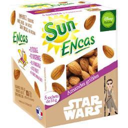 Sun Fruits Secs Encas amandes grillées