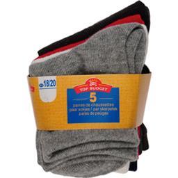 Mi-chaussettes layette garcon 21/23