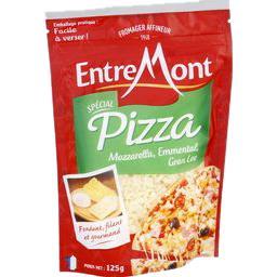 Fromage râpé Spécial Pizza, mozzarella emmental comt...
