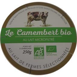 Le Camembert BIO au lait microfiltré