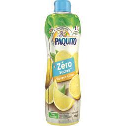 Boisson saveur citron zéro sucres