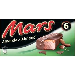 Barres glacées amande caramel cacao Mars