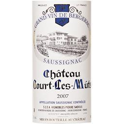 Saussignac Château Court Les Mûts vin Blanc moelleux 2007