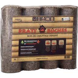 Bûches bois de chauffage densifié