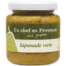 Un Chef en Provence Tapenade verte le pot de 110 g