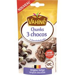 Pépites Chunks 3 chocos
