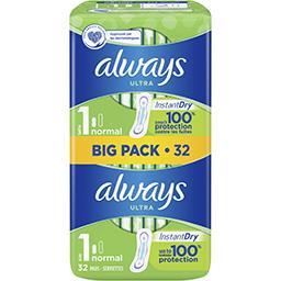 Always Ultra normal (t1) serviettes hygiéniques
