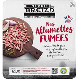 Les Bonnes Allumettes bretonnes fumées