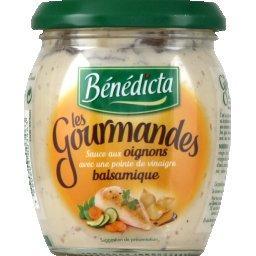 Sauce Les Gourmandes aux oignons et vinaigre balsamique