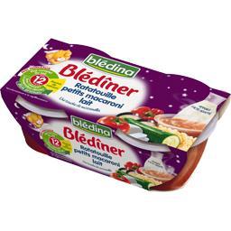 Blédina Blédina Blédîner - Ratatouille petits macaroni lait, dès 12 ...