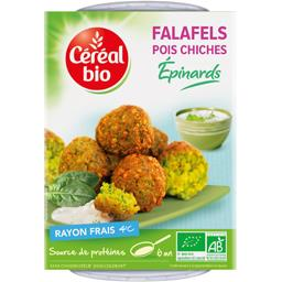 Falafels pois chiches épinards BIO