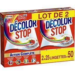 Eau Ecarlate Décolor Stop - Lingettes anti décoloration