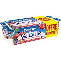 Spéciliaté laitière sucrée aux fruits mixés rouges VELOUTE FRUIX 8x125g