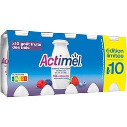 Actimel - Lait fermenté à boire goût fruits des bois