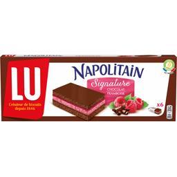Napolitain - Gâteau Signature chocolat framboise