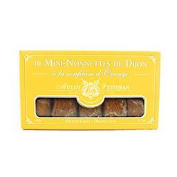 Mini-nonnettes de Dijon à la confiture d'orange