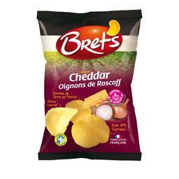 Chips saveur cheddar oignons de Roscoff