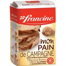 Sélection de farines boulangères pour pain de campagne