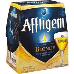 Bière blonde brassée en Belgique