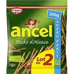 Dr. Oetker Ancel - Biscuits apéritif Sticks d'Alsace
