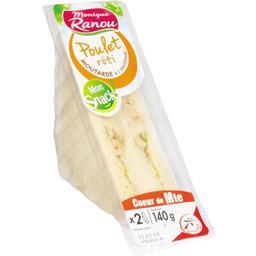 Mon Snack ! - Sandwich poulet rôti moutarde à l'anci...