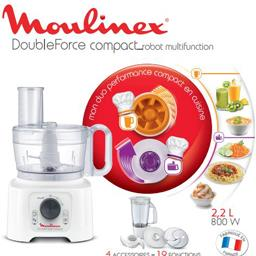 Robot multifonction Double Force Compact 2,2 L 800W,...