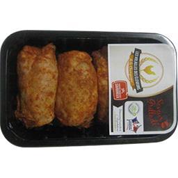 Hauts de cuisse de poulet paprika