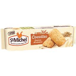 Biscuits Cocottes céréale graines