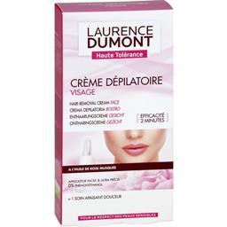Crème dépilatoire visage à l'huile de rose musquée