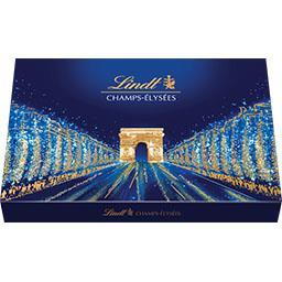 Lindt Champs-Elysées - Assortiment de chocolats au lait/no...