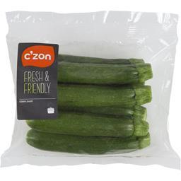 CZON Mini courgettes la barquette de 250 g