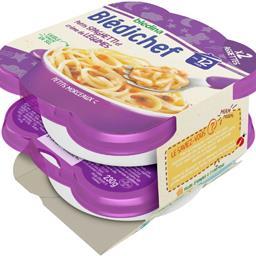 Blédichef - Petits Spaghetti et crème de légumes, dès 12 mois