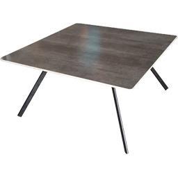 Table 80x80 Ebène OV C