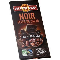 Chocolat noir du Pérou fèves de cacao BIO