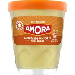 Moutarde mi-forte goût équilibré