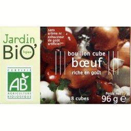 Bouillon cube boeuf BIO