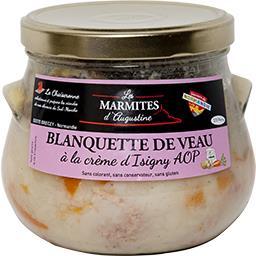 Blanquette de veau à la crème d'Isigny AOP