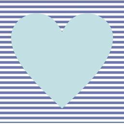 Serviettes 3 plis 33x33 cm bleu clair Hearty