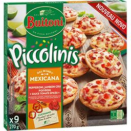 Piccolinis - Mini pizzas Mexicana