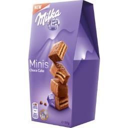 Milka Mini choco cake le paquet de 117 g