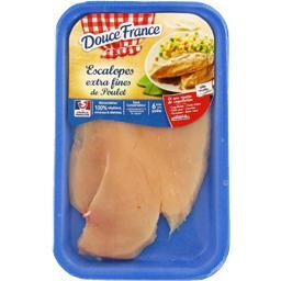 Escalopes extra fines de poulet blanc