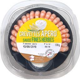 Crevette Apero' sauce fines herbes