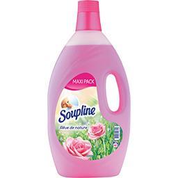 Soupline Adoucissant rêve de nature douce rosée le bidon de 2,85 l - Maxi Pack