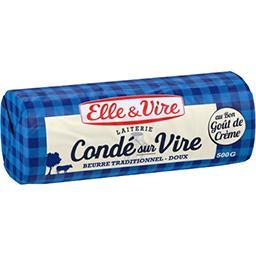 Beurre de la laiterie de Condé-sur-Vire doux