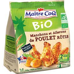 Manchons & ailerons de poulet rôtis BIO