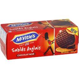 Sablés anglais chocolat noir