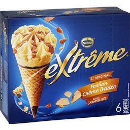 L'Original - Cônes parfum crème brûlée éclats caramé...