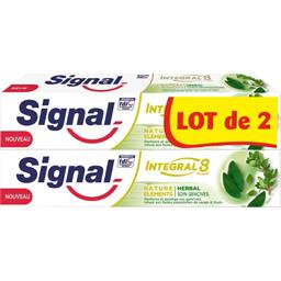 Signal Integral 8 - Dentifrice Nature Elements soin gencive...