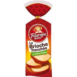 La Brioche Tranchée à la crème fraîche