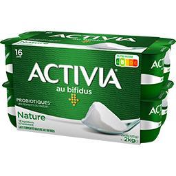 Danone Danone Activia - Lait fermenté au bifidus nature